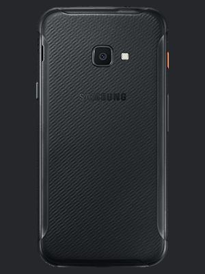 Blau.de - Samsung Galaxy Xcover 4s - schwarz (hinten)