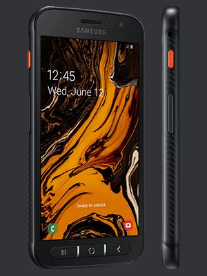 Blau.de - Samsung Galaxy Xcover 4s - schwarz (seitlich)