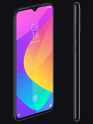 Blau.de - Xiaomi Mi 9 Lite - schwarz (seitlich)