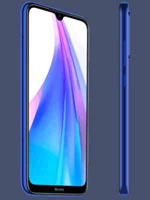 Blau.de - Xiaomi Redmi Note 8T - blau (seitlich)