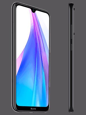 Blau.de - Xiaomi Redmi Note 8T - schwarz (seitlich)