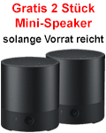 Gratis Huawei Mini-Speaker (2 Stück)