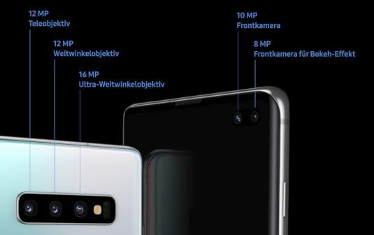 Kamera vom Samsung Galaxy S10+