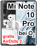 Xiaomi Mi Note 10 Pro bei o2