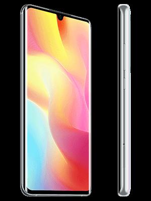 Blau.de - Xiaomi Mi Note 10 lite (weiß / seitlich)