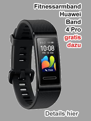 Fitnessarmband Huawei Band 4 Pro gratis