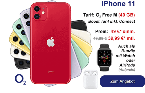 Apple iPhone 11 bei o2