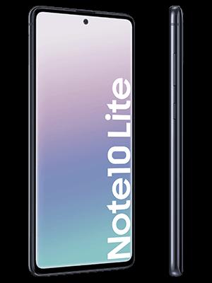 Blau.de - Samsung Galaxy Note10 lite (schwarz / seitlich)