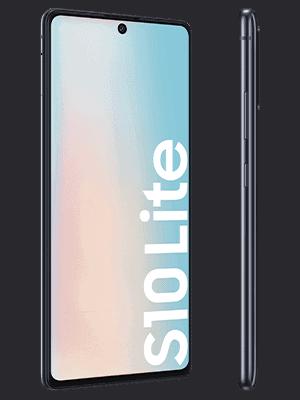 Blau.de - Samsung Galaxy S10 lite (schwarz / seitlich)
