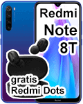 Blau.de - Redmi Note 8T mit gratis Airdots