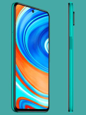 Blau.de - Redmi Note 9 Pro (grün / seitlich)