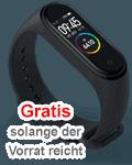 Gratis Xiaomi Smart Band 4 (Fitnessarmband)