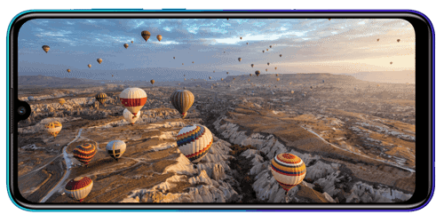 Display des Huawei P smart 2020