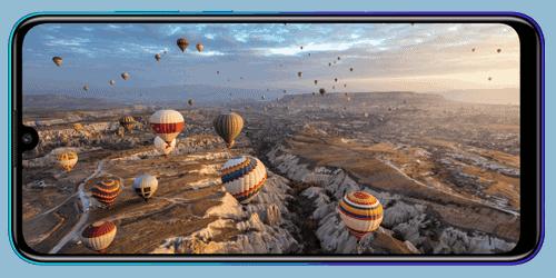 Display des Huawei P smart 2020