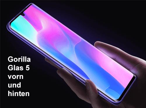 Display vom Xiaomi Mi Note 10 lite