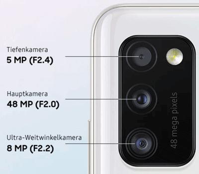 Kamera Samsung Galaxy A41