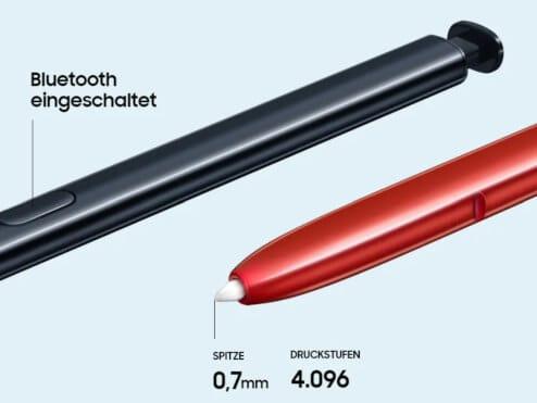 S-Pen vom Samsung Galaxy Note10 lite