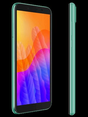 Blau.de - Huawei Y5p (grün / seitlich)