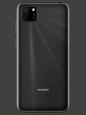 Blau.de - Huawei Y5p (schwarz / hinten)