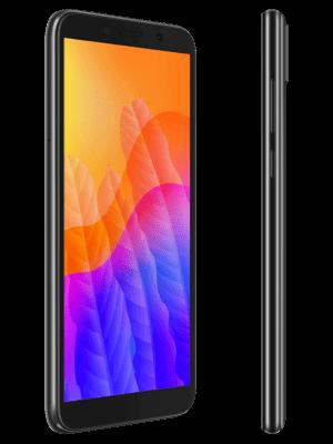 Blau.de - Huawei Y5p (schwarz / seitlich)