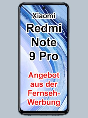 Angebot aus Blau Fernsehwerbung - Xiaomi Redmi Note 9 Pro