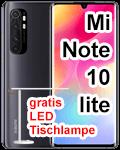 Blau.de - Xiaomi Mi Note 10 lite mit gratis LED Tischleuchte