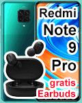 Blau.de - Xiaomi Redmi Note 9 Pro mit gratis Earbuds