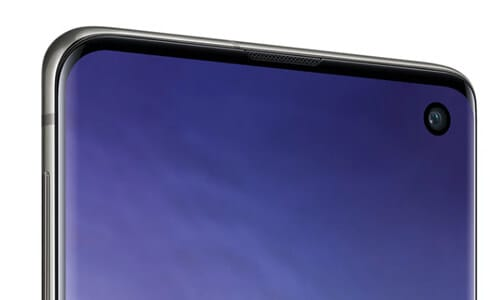Display vom Samsung Galaxy S10