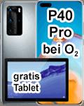 Huawei P40 Pro mit Tablet bei o2
