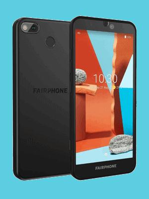 Blau.de - Fairphone 3+ (schwarz / vorn und hinten)