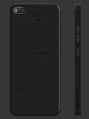 Blau.de - Fairphone 3+ (schwarz / hinten)