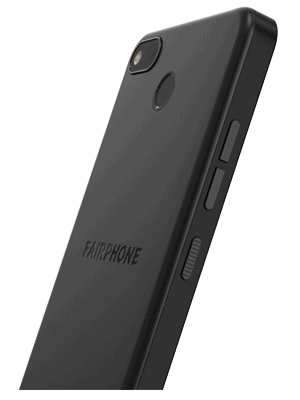 Blau.de - Fairphone 3+ (schwarz / seitlich)