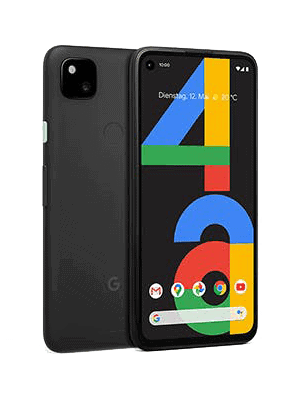 Blau.de - Google Pixel 4a (schwarz / schräg)