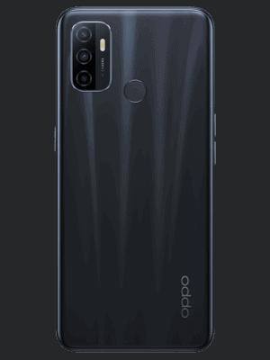 Blau.de - Oppo A53s (schwarz / electric black - Ansicht von hinten)