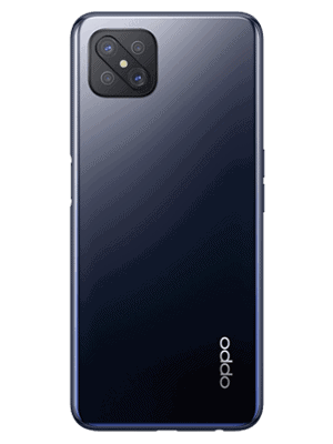 Blau.de - Oppo Reno4 Z 5G (schwarz - ink black / hinten)
