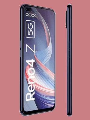 Blau.de - Oppo Reno4 Z 5G (schwarz / seitlich)