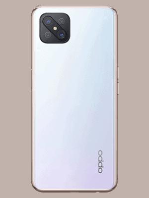 Blau.de - Oppo Reno4 Z 5G (weiß - dew white / hinten)