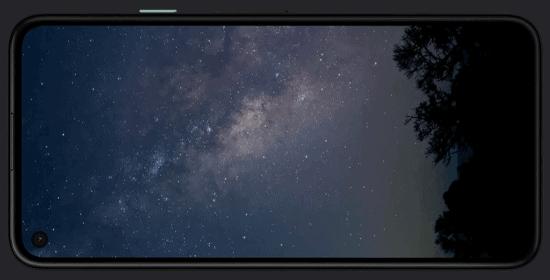 Display vom Google Pixel 4a