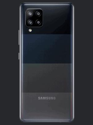 Blau.de - Samsung Galaxy A42 5G (schwarz / hinten)