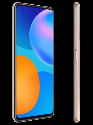 Blau - Huawei P smart 2021 (gold / seitlich)