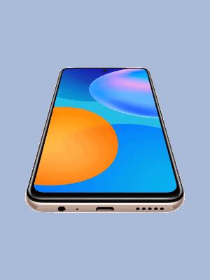 Blau - Huawei P smart 2021 (unten)