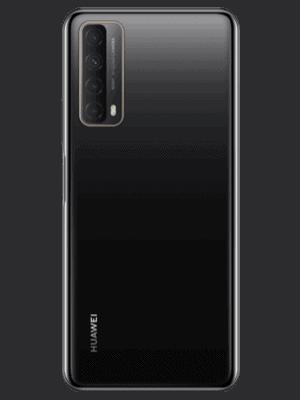 Blau - Huawei P smart 2021 (schwarz / hinten)