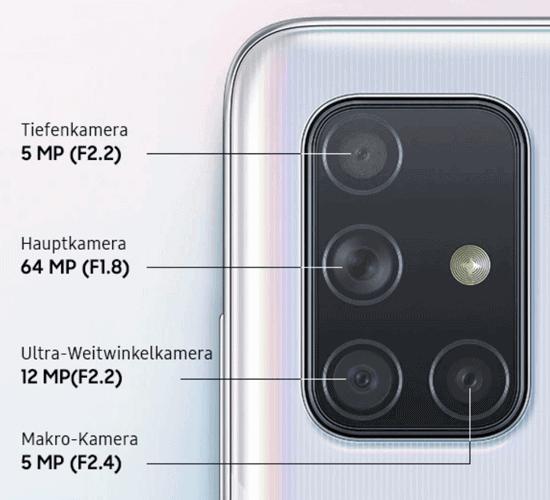 Kamera vom Samsung Galaxy A71