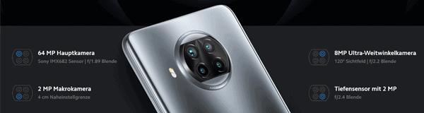 Kamera vom Xiaomi Mi 10T Lite