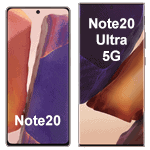 Samsung Galaxy Note 20 Modelle