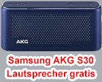 Angebot von Blau.de - Samsung AKG S30 Lautsprecher gratis