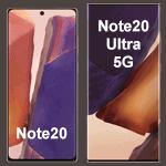 Samsung Galaxy Note20 Modelle