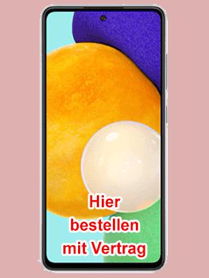 Blau.de - Samsung Galaxy A52 - hier bestellen