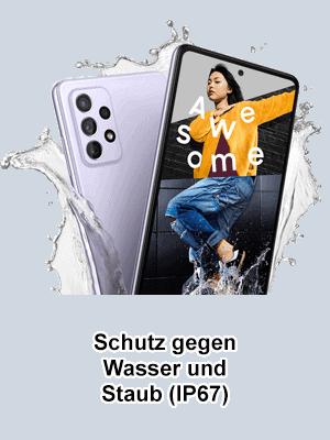Blau.de - Samsung Galaxy A72 - Wasserschutz