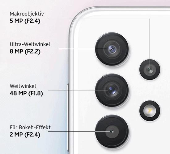 Kamera vom Samsung Galaxy A32 5G